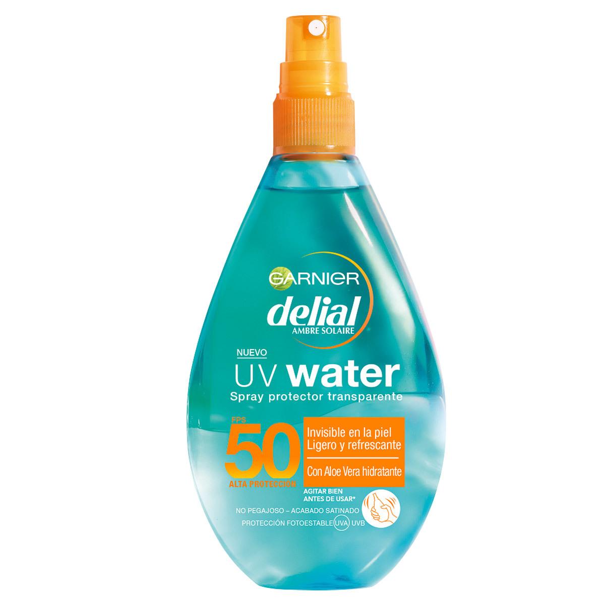 UV Water SPF 50 Delial de Garnier (14,90 euros).