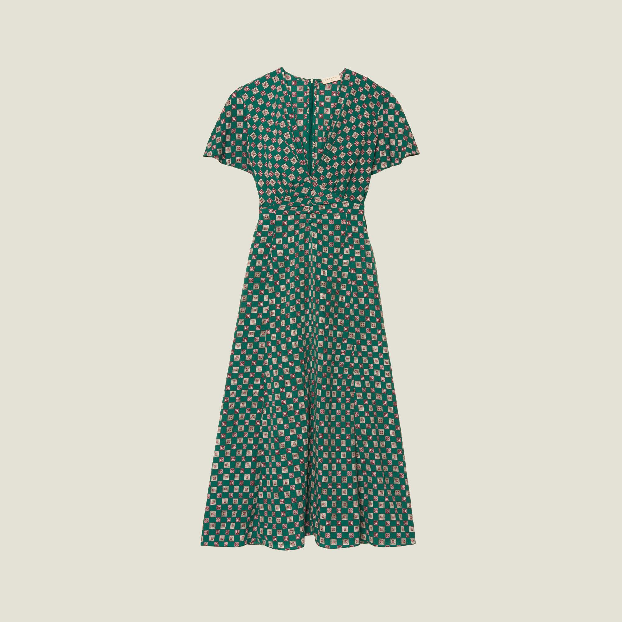 Vestido de Sandro Paris (195 euros)