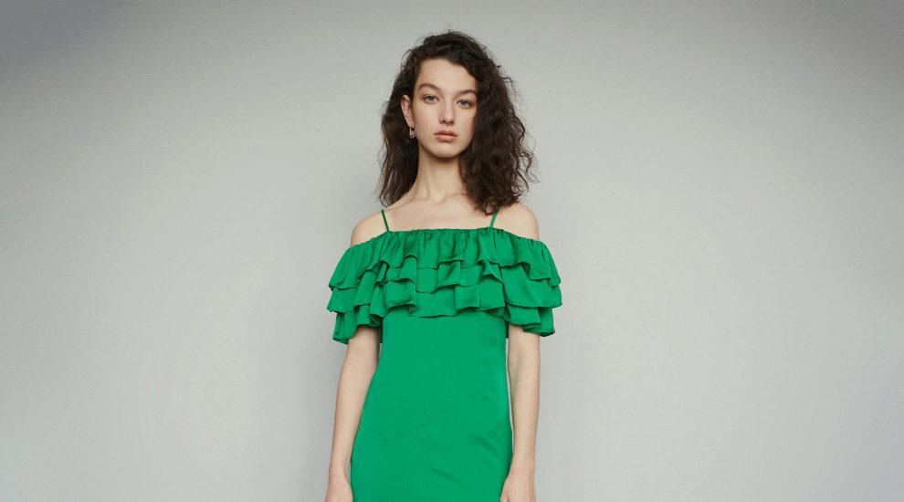 Y este es uno de los vestidos que más nos ha gustado, de Maje