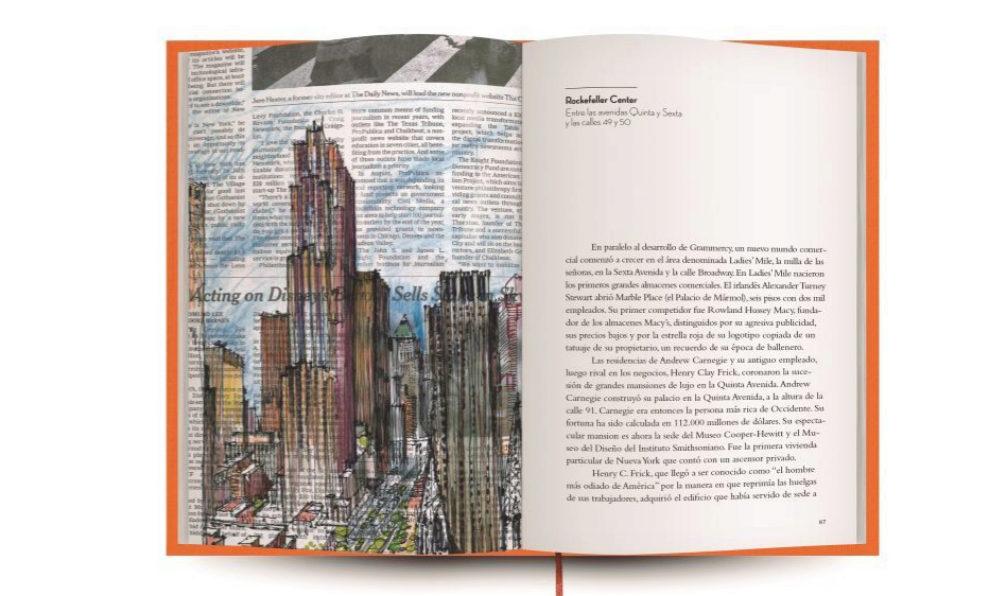 Interior de la Guía de Nueva York.