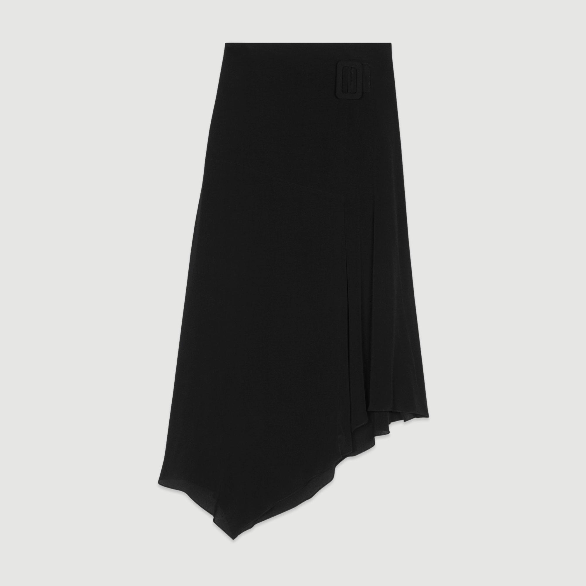 Falda asimétrica de Maje