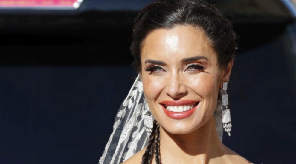 Pilar Rubio en su boda con Sergio Ramos.
