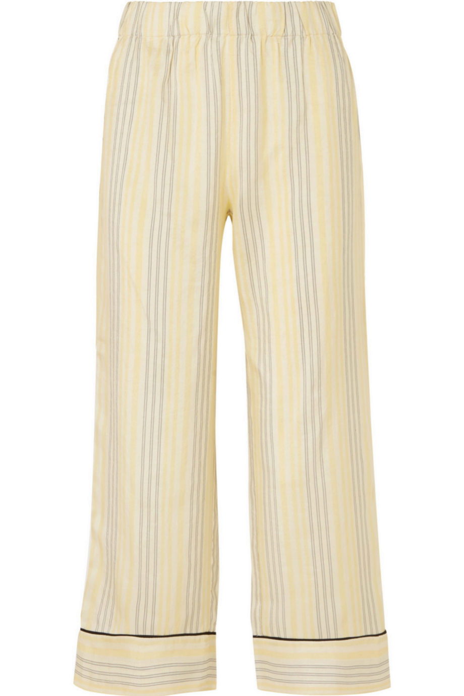 Pantalones de rayas tipo pijama de Ganni