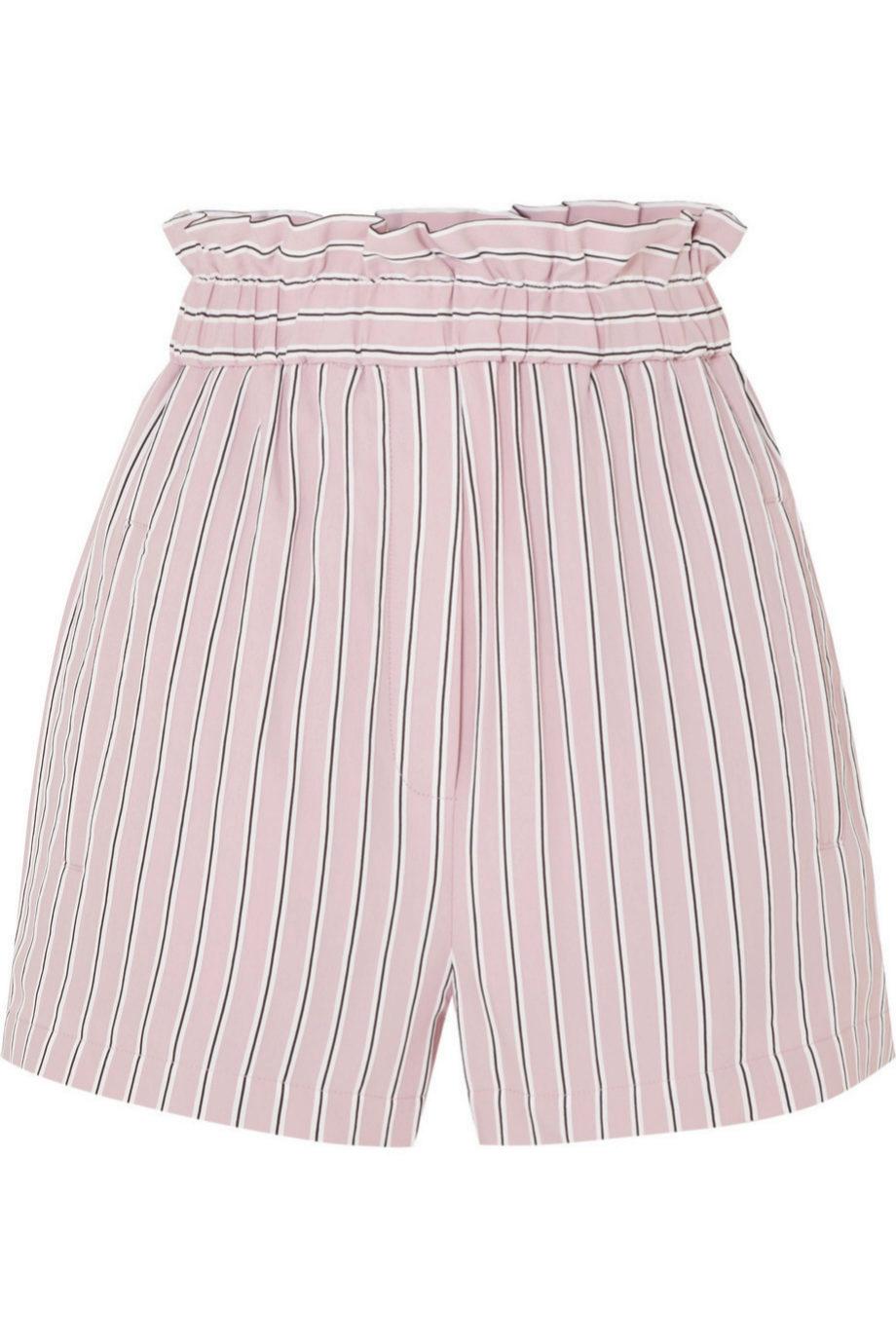 Shorts de rayas de Tibi