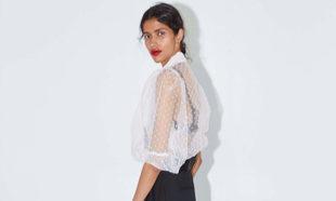 En Zara hemos encontrado las blusas de organza más sofisticadas