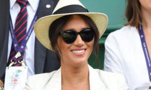 Meghan Markle en Wimbledon.