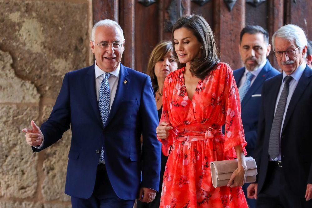 La reina Letizia en La Rioja.