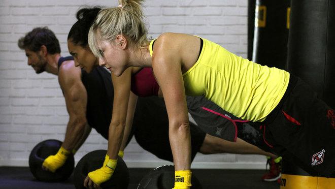 Las mujeres solían pensar que practicando boxeo se iban a poner...