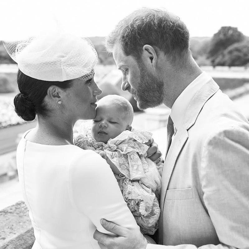 Meghan Markle y el príncipe Harry comparten una fotografía del...