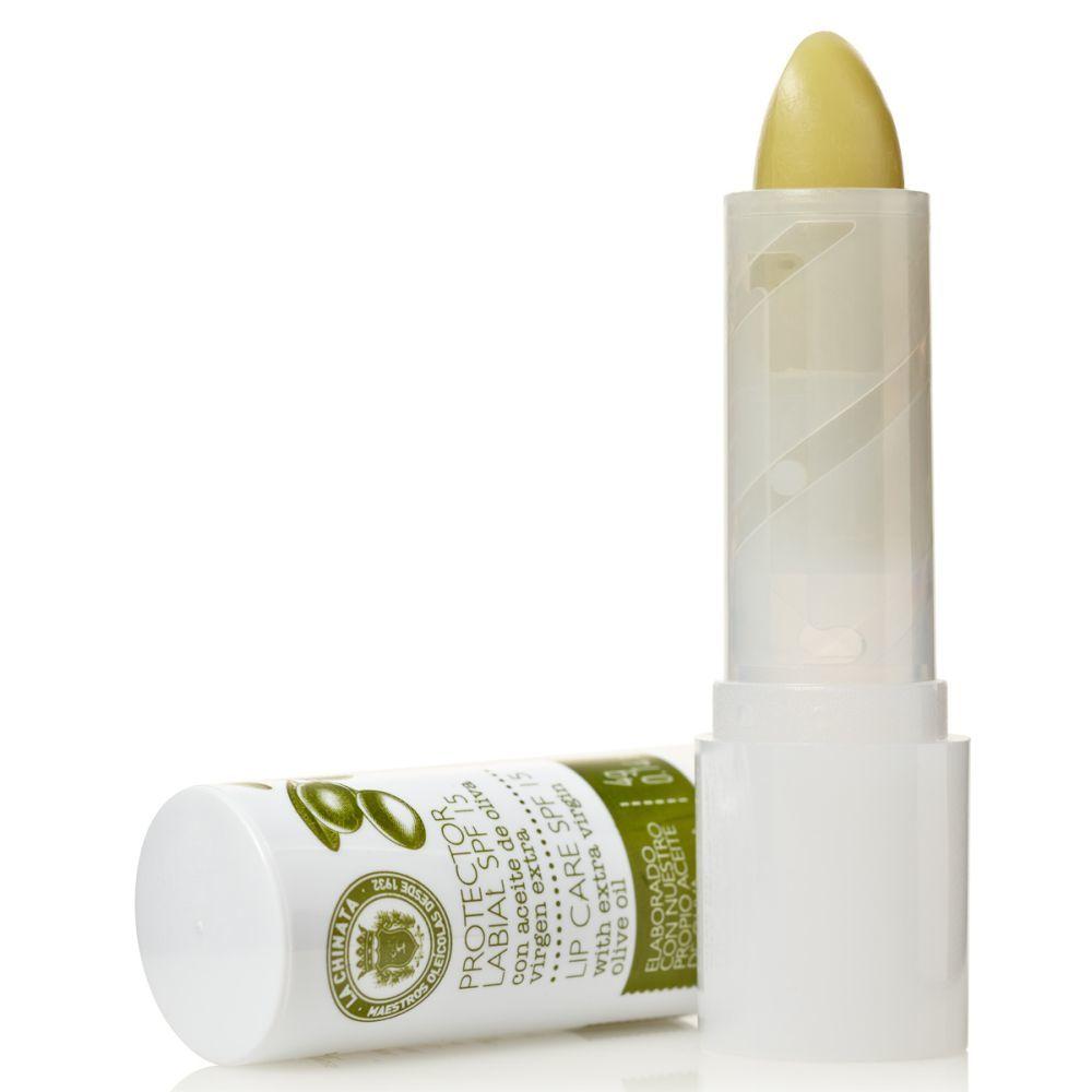 Protector labial SPF 15, La Chinata (1,95 euros). Elaborado con una...