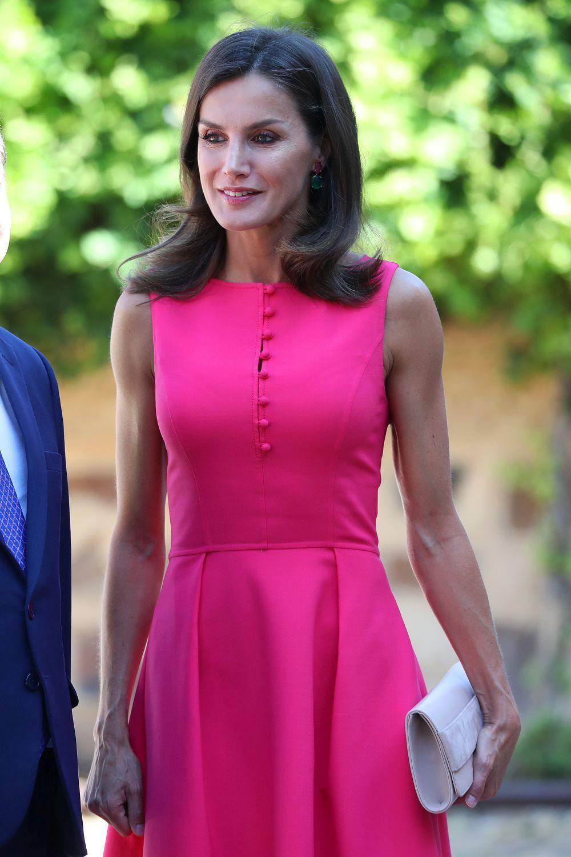 La reina Letizia visita Almagro.