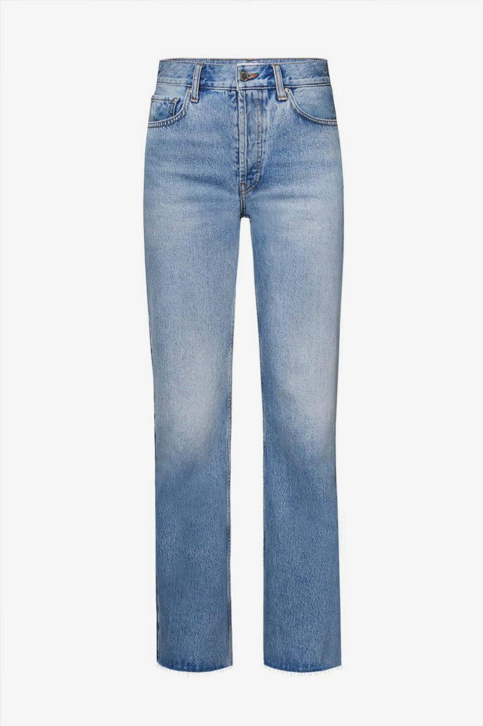 Jeans de tiro alto con corte recto de Anine Bing