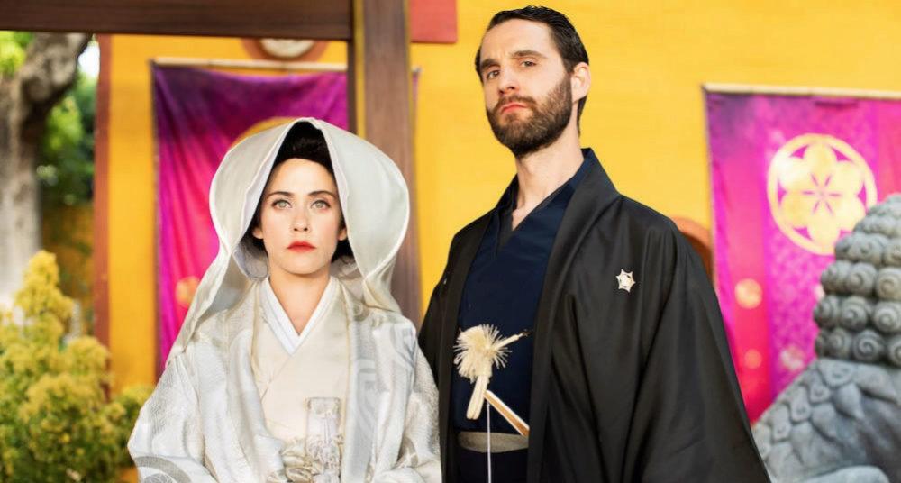 Escena de Los Japón, con María León y Dani Rovira
