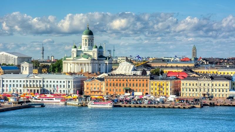 Helsinki, en Finlandia.