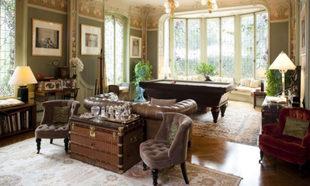 Sala de estar de la Casa Familiar de Louis Vuitton.