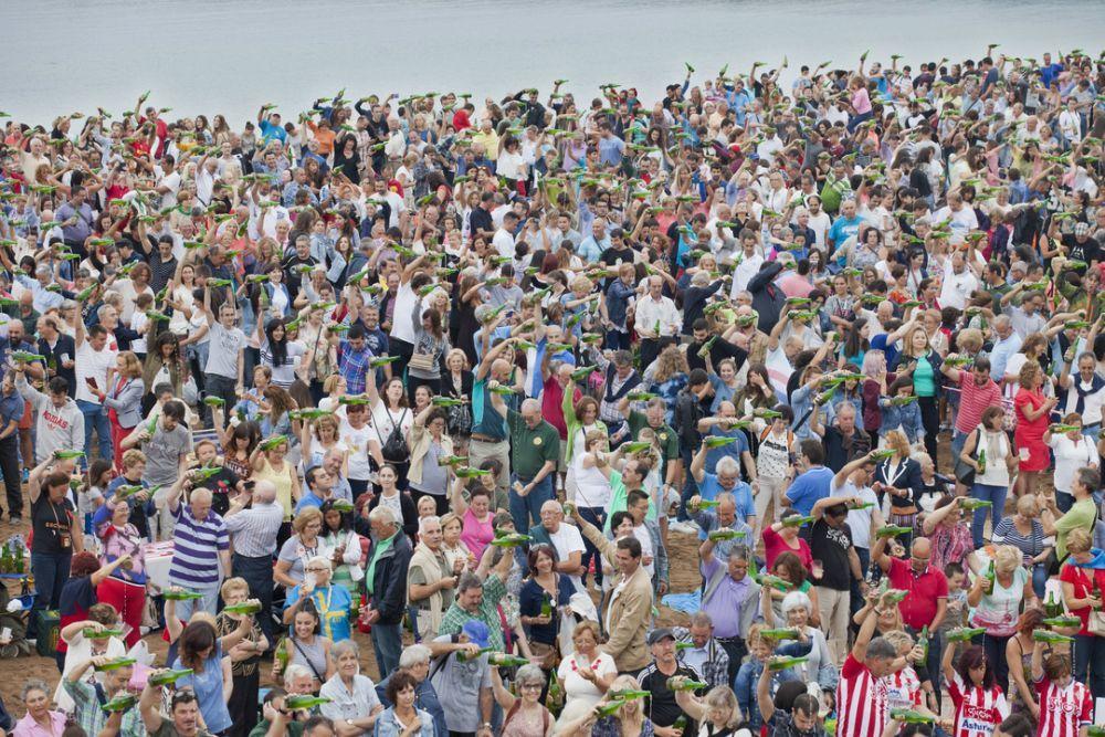 Festival de la sidra natural de Gijón. Camilo Alonso.