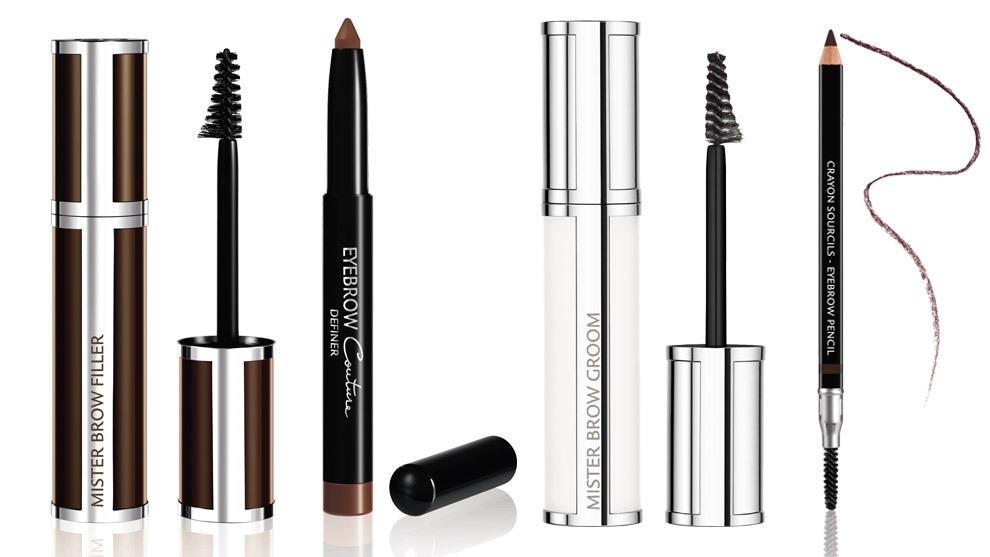 Mister Brow Filler (25,50 euros); Eyebrow Couture Definer (24,50 euros); Mister Brow Groom (25,50 euros); Brow Couture Pencil (24,50 euros). Todo de Givenchy.
