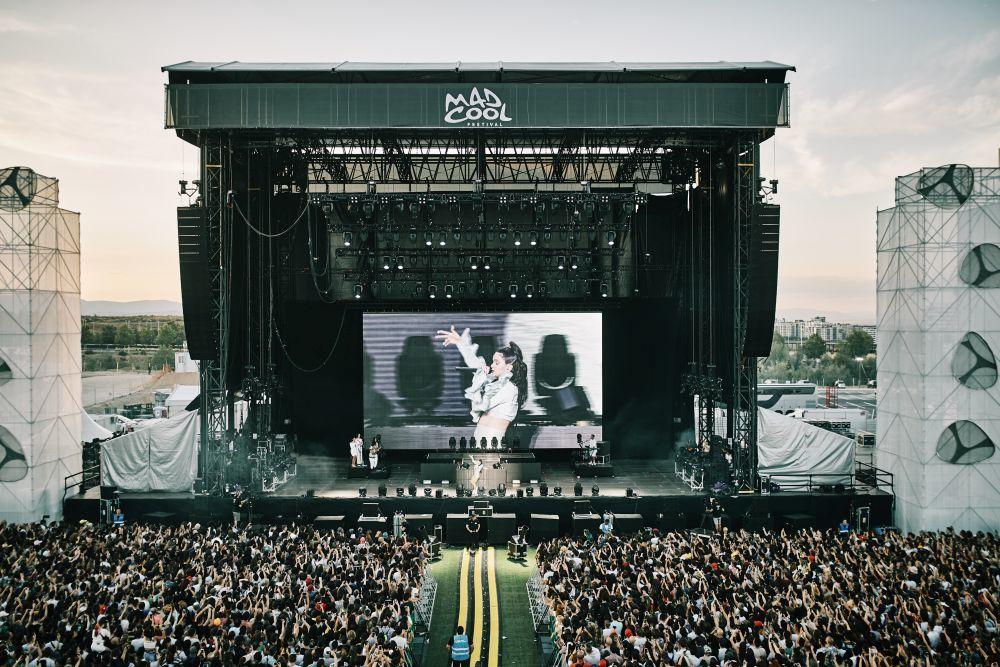 Casi 40.000 asistentes en el Mad Cool acudieron a ver a Rosalía