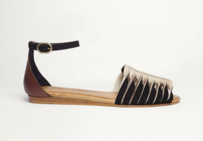 Sandalias planas raya, de Beatriz Furest
