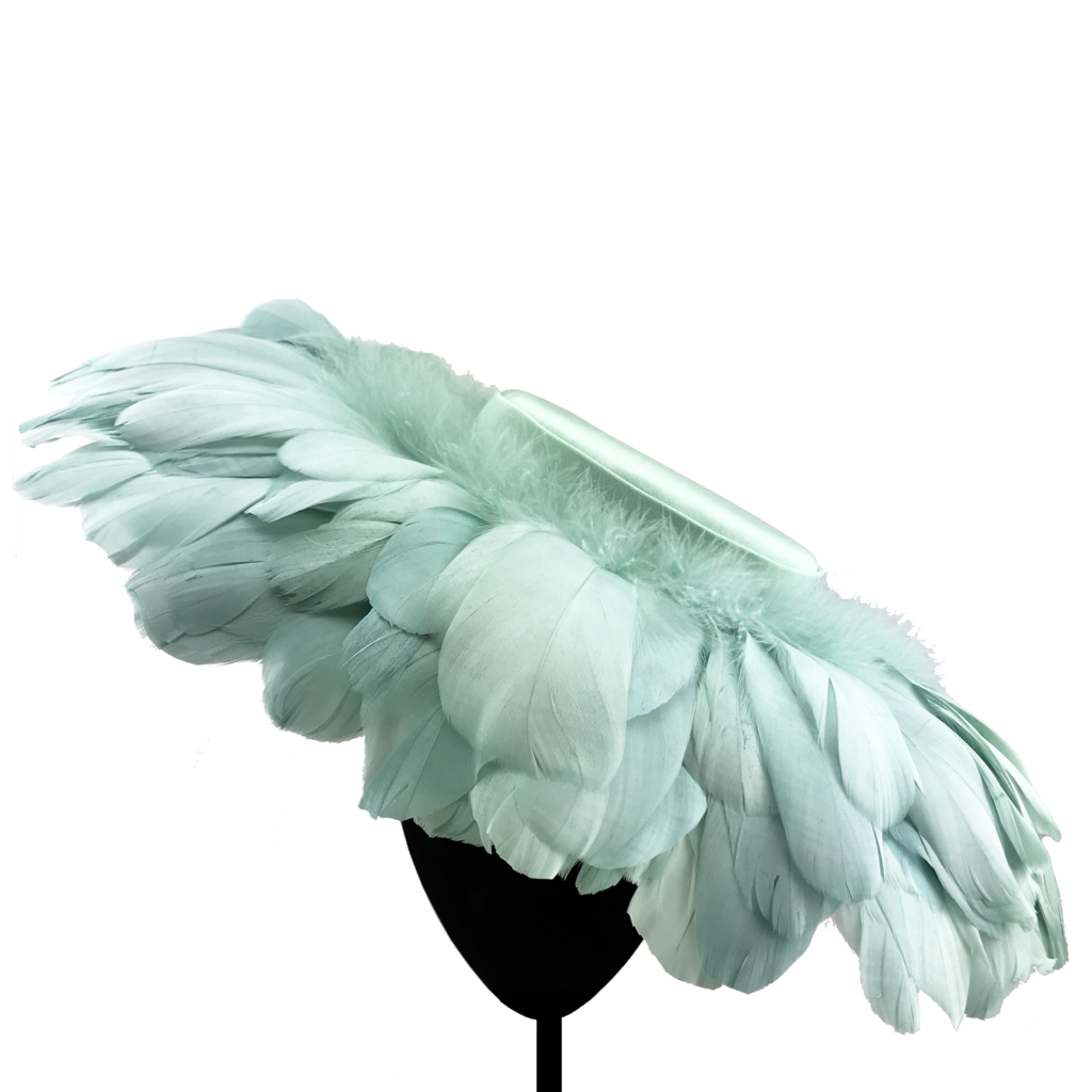 Pamela de plumas, de Mimoki.