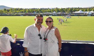 Ainoa Arteta y su pareja disfrutan del polo en Sotogrande