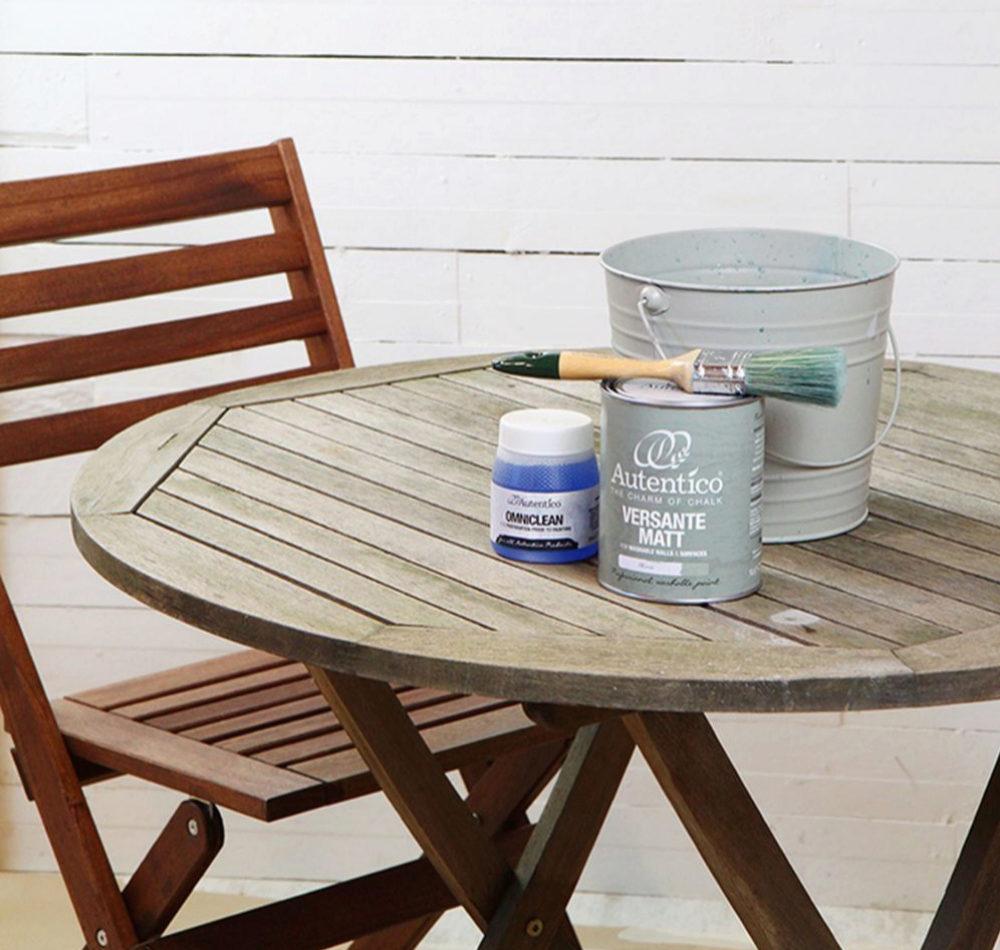 Mesa antes de pintarla