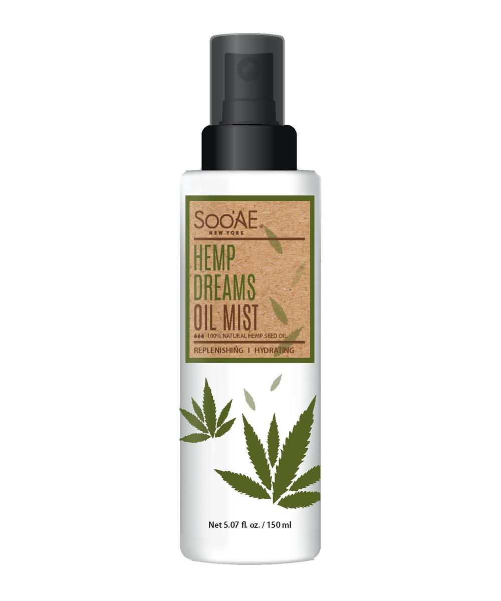 Bruma Facial Hemp Dreams Oil Mist de Sooae