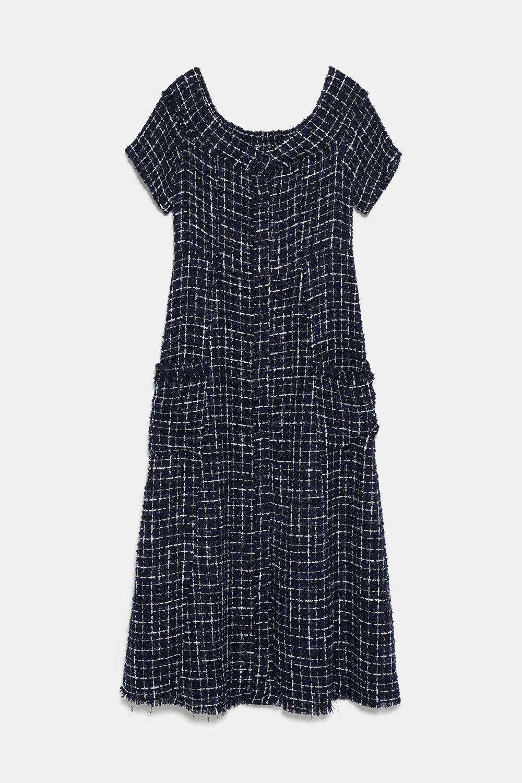 Vestido de Zara (19,99 euros)