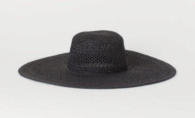 Sombrero XL de rafia de H&M