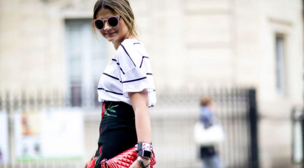 Camiseta de rayas, cómo llevar el look
