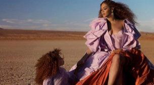 Beyoncé y Blue Ivy.