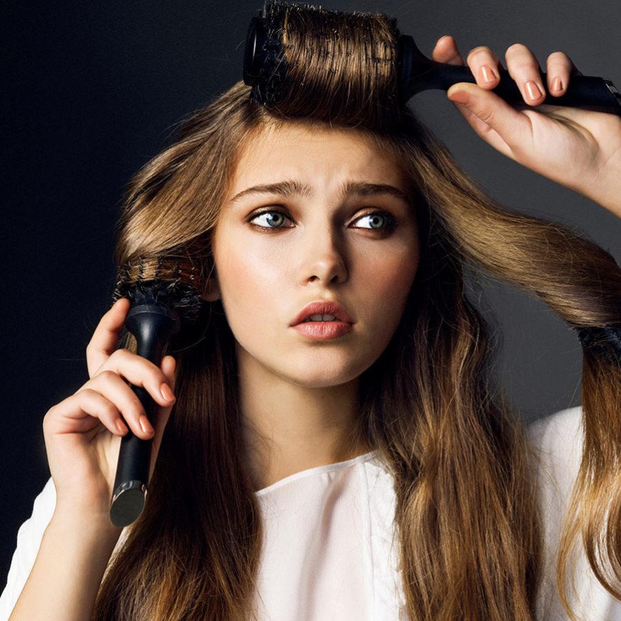 Tenemos que evitar que el pelo se vuelva quebradizo.