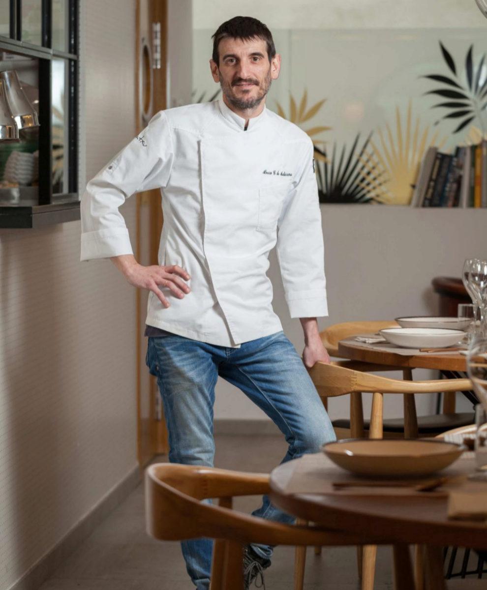 Álvaro González de Audicana y su nuevo restaurante en el Barrio de...