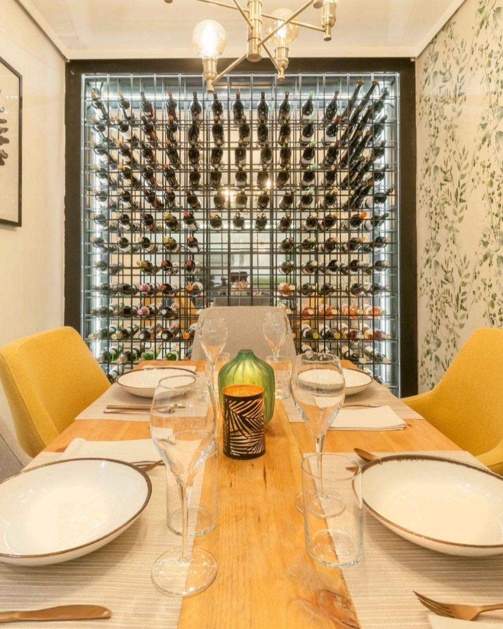 Sala privada del restaurante Aitatxu