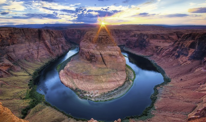 Horseshoe Bend en el Río Colorado