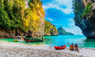 Isla Poda, Krabi, Tailandia
