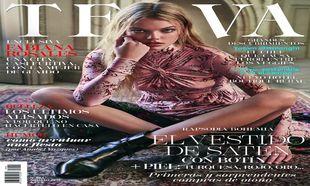 La modelo Chané Husselmann, protagoniza la portada de TELVA AGOSTO