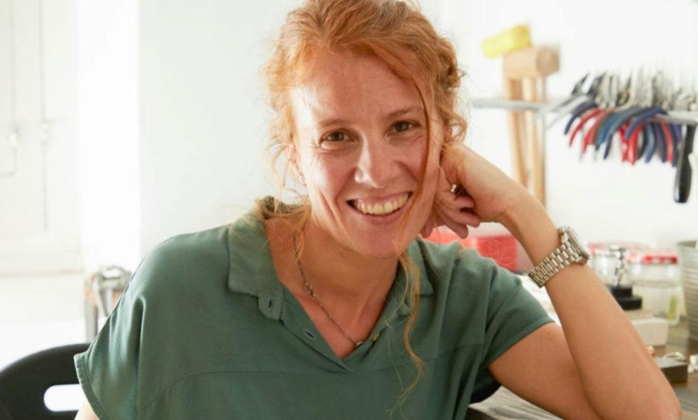 Marta Puig Durall, creadora de la firma de joyas Mademoiselle Coline.