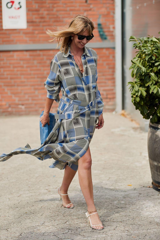 El vestido camisero es la alternativa perfecta para tus looks working...