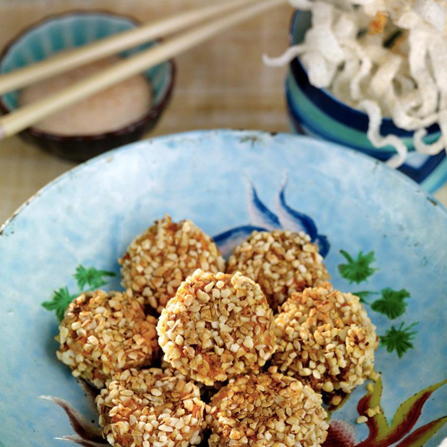 Puedes usar el sésamo para rebozar tus carnes y pescados.
