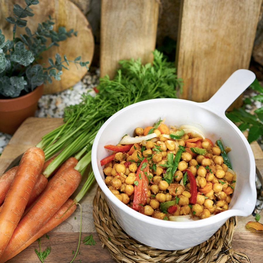 Las legumbres son ricas en fibra.