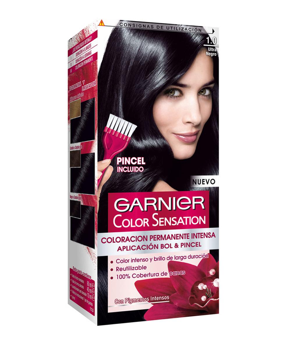 Tinte Garnier Color Sensation.