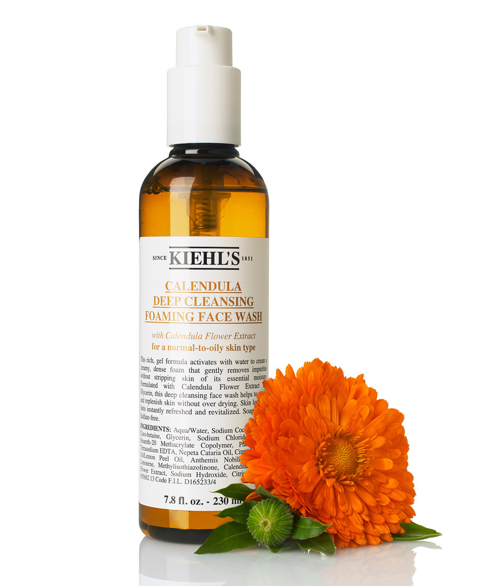 Gel Limpiador Calendula Deep Cleansing Foaming Face Wash de Kiehl's