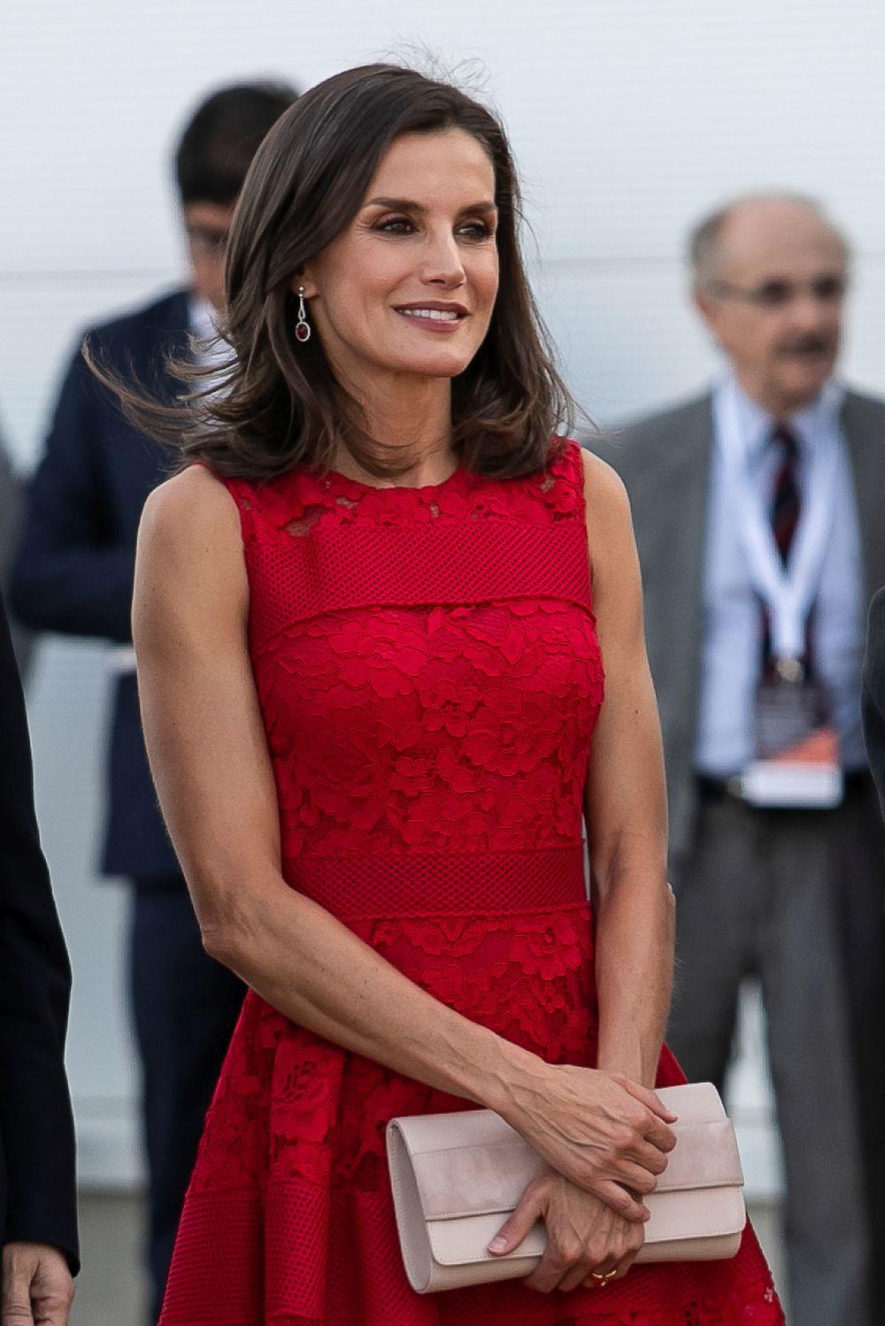 La reina Letizia en Valencia.