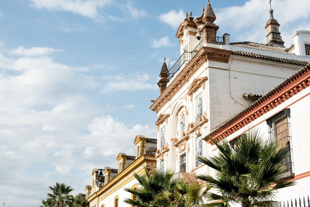 La iglesia de la Caridad de Sevilla, donde fue la boda.