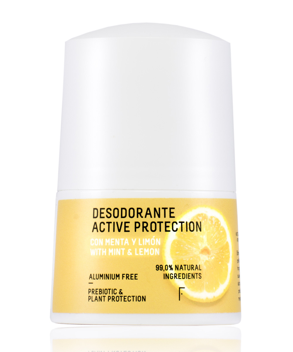 Desodorante natural ctive Protection de Freshly Cosmetics.