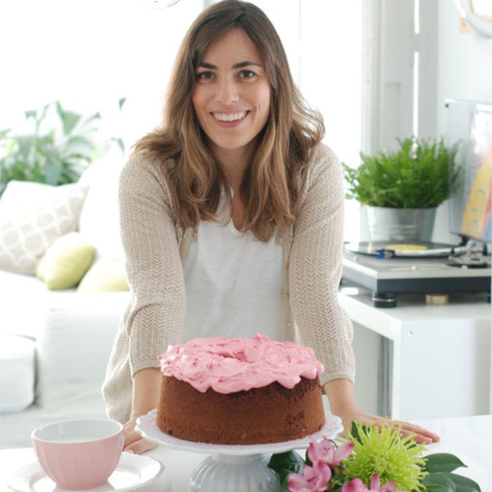 Rosa Ardá en su foto de presentación del blog.