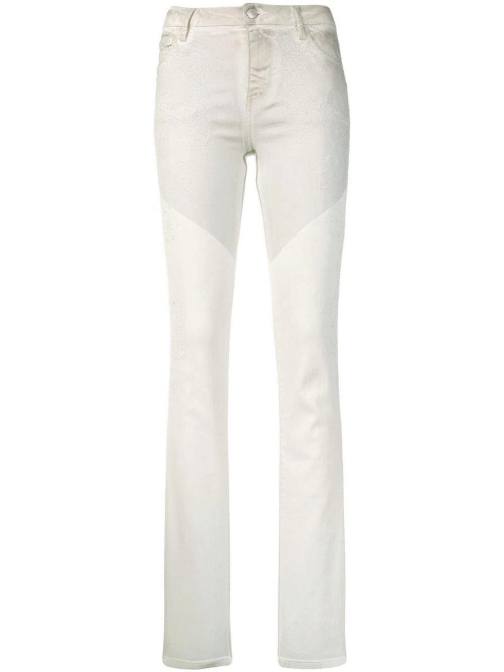 Jeans acampanados bicolor de Zadig & Voltaire