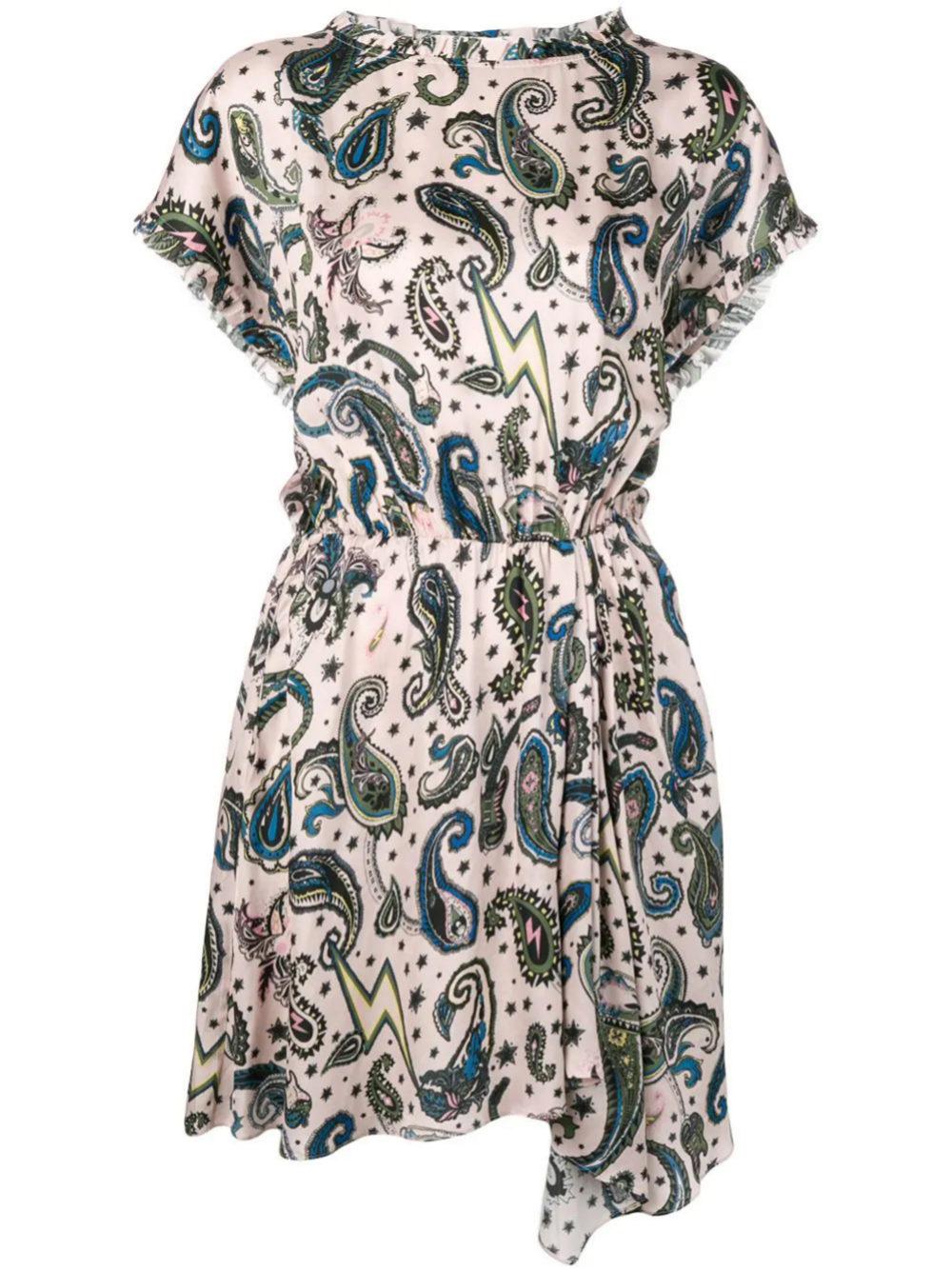 Vestido mini estampado de Zadig & Voltaire