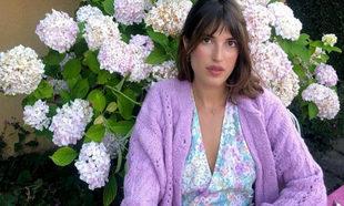 Jeanne Damas siempre va vestida de flores